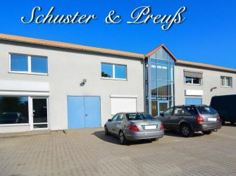 Schuster & Preuß - Bernau - Investobjekt mit Potential, bis zum 11,5 fachem Faktor möglich - modernes Gewerbegebäude mit 1440 m² Nutzfläche auf ca. 3200 m² Grund