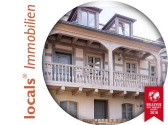 Kleine Terrassen-Maisonette in gepflegter Anlage, mitten in der City