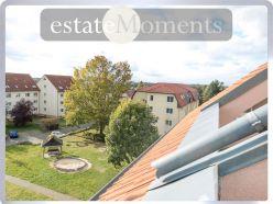 Maisonette-Dachgeschosswohnung in Werder (Havel): Balkon mit Südwestausrichtung, Privatsphäre
